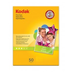 Kodak A6 Glossy Photo paper - 50 Sheets