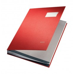 Leitz Signature File - Red