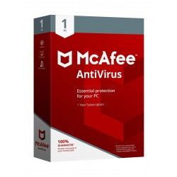 McAfee Antivirus 2018 1 User