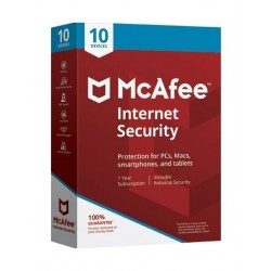 McAfee Internet Security 2018 10 Users 10 Devices