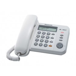 Panasonic Corded Telephone (KX-TS560FXW) - Black