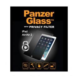 واقي الشاشة الزجاجي الأصلي مع فلتر الخصوصية لآيباد إير من بانزر - شفاف (26548)