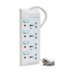 Philips 4-Sockets Power Extension 4M - PE008