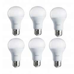 Philips 7W Warm White LED Bulbs 6pcs