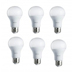 Philips 8W Warm White LED Bulbs 6pcs