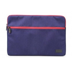 Promate Portfolio-L Lightweight Sleeve with Water Repellent Protective Fabric - Blue 1