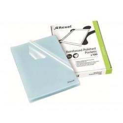 Rexel Reinforced Polished Pockets 100pcs