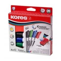Rexel Whiteboard Marker & Eraser 4pcs/Box