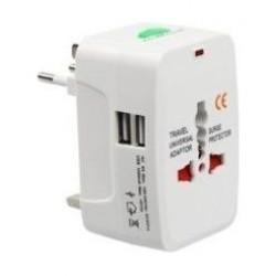RTC Universal Adaptor With Dual USB