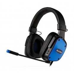Sades Dpower Gaming Headset - Black/Blue 2