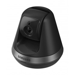 Samsung Compact Pan & Tilt Home Monitoring Camera (SNH-V6410PN) - Black