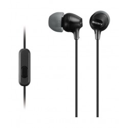 Sony Earphone With Mic (MDREX15AP) - Black
