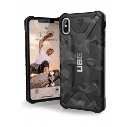 UAG Pathfinder Series iPhone XS Max Case - Camo Feather Midnight