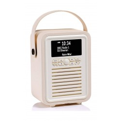VQ Retro Mini HD & FM Radio with Bluetooth Speaker - Red