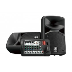 Yamaha Portable PA System With Bluetooth (STAGEPAS 400BT) - Black