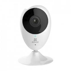 كاميرا مراقبة داخلية بتقنية واي فاي بدقة 1080 بكسل من إيزفيز سي 2 سي - أبيض