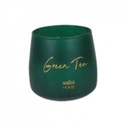 شمعة صفاة هوم بالشاي الاخضر 120 جرام - اخضر