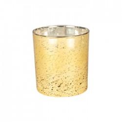شمعة صفاة هوم بالعنبر 210 جرام - ذهبي