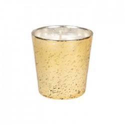 شمعة صفاة هوم بالعنبر 75 جرام- ذهبي