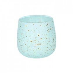 شمعة صفاة هوم برائحة الكتان الناعم 120 جرام - ازرق