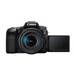 Canon 90D 32.5MP 4K Digital SLR Camera with 18-125 Lens