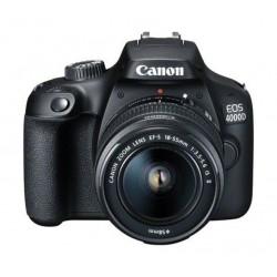 كاميرا كانون الرقمية إي أو إس ٤٠٠٠دي بدقة ١٨ ميجابكسل واي فاي مع عدسة ١٨ - ٥٥ ملم آي إس ٢