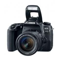 Canon EOS 77D 24.2MP Digital Camera + 18-55mm Lens (Black)