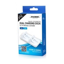 Dobe PS4 Dual Charging Dock (TP4-002W) - White
