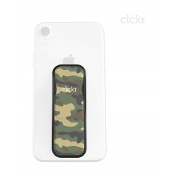 Clckr Universal Smartphones Small Grip (34292) - Camouflage Green