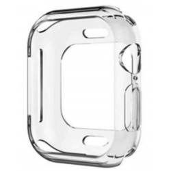 EQ Apple Watch S4 44mm Bumper Case - Clear
