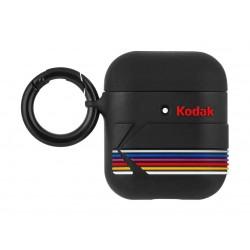 Casemate Kodak Striped AirPods Case (CM-CM039076) - Matte Black