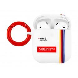 Casemate Kodak Striped AirPods Case (CM-CM039076) - White