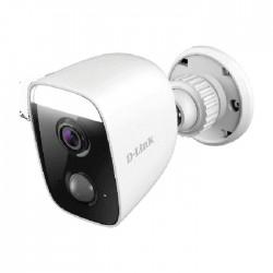 كاميرا مراقبة دي لينك بتقنية الواي فاي الخارجية عالية الوضوح - أبيض