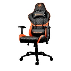 Cougar Armor One Gaming Chair - Black/Orange