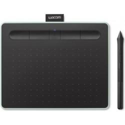 تابلت الرسم الإبداعي واكوم إنتوس بتقنية البلوتوث مع قلم رسم - (صغير) - أخضر فستقي (CTL-4100WLK)