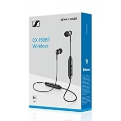 Sennheiser CX 150BT in Ear Wireless Black Headphone - Black