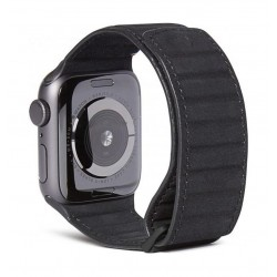 Decoded Traction Leather Apple Watch 38/40mm Strap - Black
