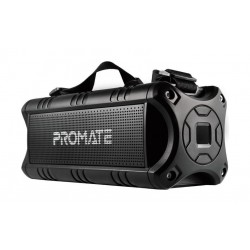 Promate Escalade 40W Rugged IPX5 Water-Resistant Wireless Adventure Speaker - Black