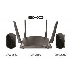 D-Link EXO AC2600 Smart Mesh Wi-Fi Router - Black
