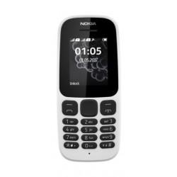 هاتف نوكيا ١٠٥ الذكي – ٤ ميجا بكسل – يدعم خطين – شاشة ١,٤ بوصة – أسود (DS TA-1034)