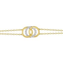 Fontenay Ladies Bracelet - Brass - Gold Plated  (DSB367Z18E) in Kuwait   Xcite Alghanim