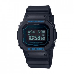 Casio G-Shock 49mm Men's Digital Watch (DW-5600BBM-1DR) in Kuwait | Buy Online – Xcite