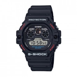 Casio G-Shock 47mm Men's Digital Watch (DW-5900-1DR) in Kuwait | Buy Online – Xcite