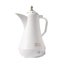 صانعة القهوة العربية بقوة ٨٠٠ واط وسعة ٣٥٠ ملي من ياتوق – أبيض ((Y-003