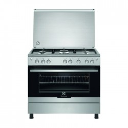 Buy Electrolux 5 Burner Gas Cooker (EKG9000A4X) in Kuwait | Buy Online – Xcite