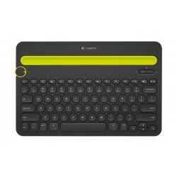 لوحة مفاتيح لاسلكية من لوجيتيك 920-006366 - أسود