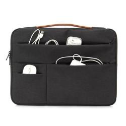 حقيبة حجم 17.3 بوصة من اي كيو (KLM181007) - أسود