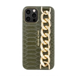 Ideal Of Sweden Statement Case iPhone 12 Pro Case - Green Snake
