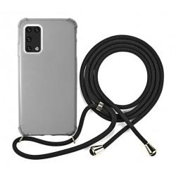 EQ Neck String Samsung Galaxy A02S 5G Case - Grey