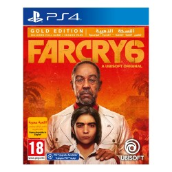 Far Cry 6 Gold Edition PS4 Game cover